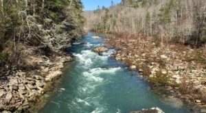 Follow The River On This Simple 4-Mile Hike Through The Woods In Tennessee