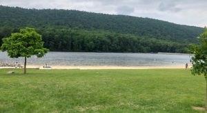 This One Beautiful Pennsylvania Lake Has A Beach That Rivals The Coast