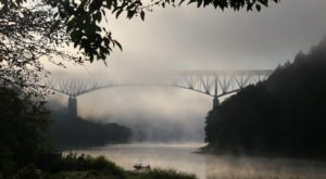 The Tallest, Most Impressive Bridge In Pennsylvania Can Be Found In The Town Of Emlenton