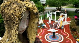 The Art At The Chauvin Sculpture Garden Near New Orleans Looks Like Something From Another Planet