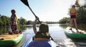 Spend An Afternoon Taking A Delightful Kayak Paddling Tour Through Knoch Knolls Park In Illinois This Spring