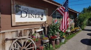 The Old West-Style Rusty Lantern Diner In Idaho Serves Generous Portions Of Homecooked Eats