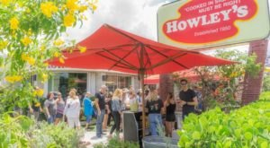 Howley's Restaurant In Florida Offers Comfort Food In A 50's-Style Diner Atmosphere