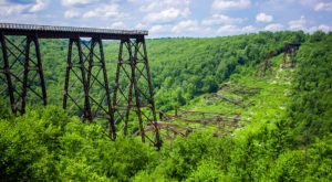 Pennsylvania's Kinzua Bridge Is A Wonder Of The World You Should Visit In 2020