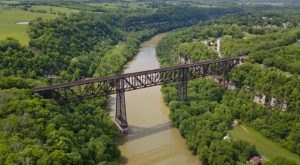 One Of The Tallest And Most Impressive Bridges In Kentucky Can Be Found In The Town Of High Bridge