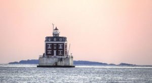 The Spooky Legend Surrounding Connecticut's New London Ledge Lighthouse Is Totally Freaky