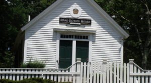 Drive Down This Little-Traveled Back Road To Discover Read School In Rhode Island