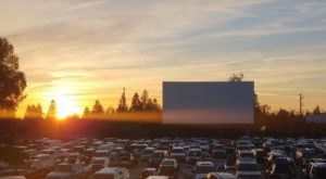 A Drive-In Movie Theater In Northern California Has Re-Opened With Social Distancing Guidelines