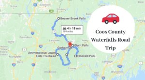 The 4-Hour Road Trip Around Coos County Waterfalls Is A Glorious Spring Adventure In New Hampshire