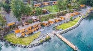 Stunning Views And Cozy Cabins Await You At Snug Harbor Resort In Washington