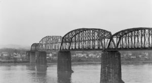 Built In The 1800s, The Parkersburg Railroad Bridge In West Virginia Was Once The Longest Bridge In The World