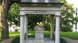 Few People Know President Polk Is Buried At The State Capitol In Tennessee