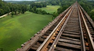 The Tallest, Most Impressive Bridge In Indiana Can Be Found In The Town Of Bloomfield