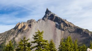 Oregon's Mount Thielson Is The Lightning Rod Of The Cascades