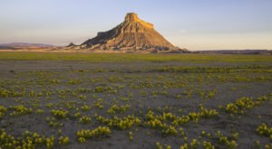 One Of Utah's Most Stunning Natural Wonders, Factory Butte Stands 6,300 Feet Above Sea Level