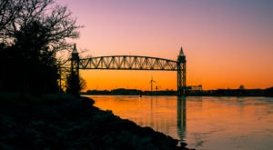 Built In The 1900s, The Cape Cod Canal Railroad Bridge In Massachusetts Was Once The Longest Lift Bridge In The World