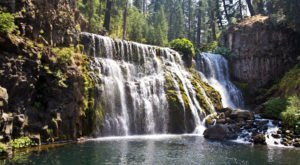 The 3-Hour Road Trip Around Redding's 'Waterfall Loop' Is A Glorious Adventure In Northern California