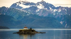 One Of The Most-Photographed Lighthouses In The Country Is Right Here On The Alaska Coast