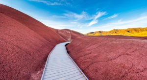 Take An Easy Out-And-Back Trail To Enter Another World At John Day Fossil Beds National Monument In Oregon