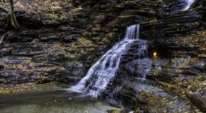 This New York Waterfall Is The Coolest Thing You'll Ever See For Free