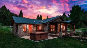 Sleep In A Renovated Homesteader's Cabin In Montana's Bear Canyon