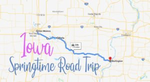 Try Out This Mini Iowa Road Trip Where You Can View Spring From Your Car