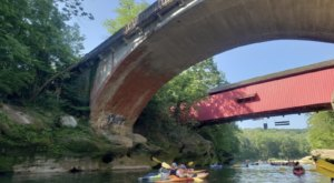 Spend An Afternoon Taking A Delightful Kayak Paddling Tour Through Two State Parks In Indiana This Spring