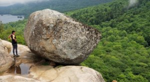 Bubble Rock In Maine's Acadia National Park Looks Like Something From Another Planet