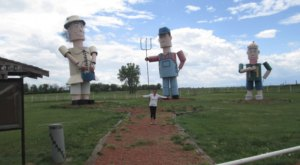 It Doesn't Get Much Quirkier Than Regent, North Dakota's Giant Sculptures, Castle, And More