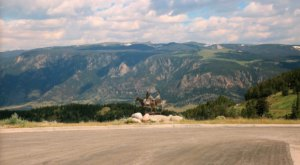 Marvel At The Beautiful Dead Indian Summit Overlook In Wyoming Without Getting Out Of Your Car