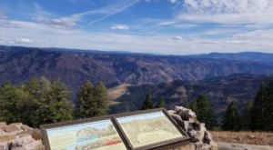 Marvel At The Beautiful Hells Canyon Overlook Near Idaho Without Getting Out Of Your Car