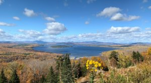 Marvel At The Beautiful Height Of Land Overlook In Maine Without Getting Out Of Your Car