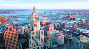 A Drone Flew High Above Providence, Rhode Island And Caught The Most Incredible Footage