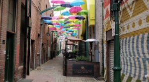 The Whimsical Umbrella Alley In Southern California That Is Right Out Of A Storybook