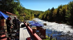 The River Views From The Rapids Bar And Grill In Massachusetts Are As Praiseworthy As The Food