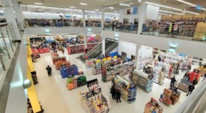 There's A Two-Story Walmart In New York That'll Take Your Grocery Shopping To The Next Level
