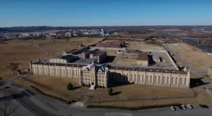 A Drone Flew High Above An Abandoned State Prison In Tennessee And Caught The Most Incredible Footage