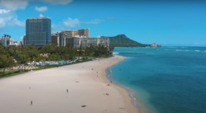 You've Never Seen The Famous Waikiki Beach Quite As Empty As This