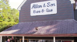 Tantalize Your BBQ Lovin' Taste Buds After A Spin Through The Drive-Thru At Allen & Sons BBQ In North Carolina