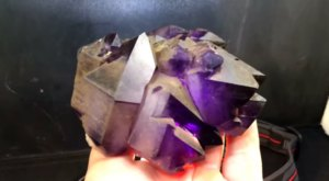 Watch And Learn As A Rock Hound Uncovers Enormous Amethyst Crystals In South Carolina