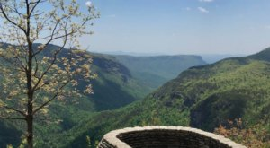 A Drone Flew Over The Linville Gorge In North Carolina And Captured Mesmerizing Footage