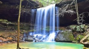 This Short And Easy Trail Will Lead You To One Of Alabama's Most Beautiful Waterfalls