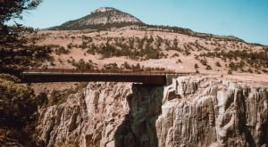 The Tallest, Most Impressive Bridge In Wyoming Can Be Found Just Outside The Town Of Cody