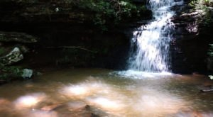 Alum Hollow Trail In Alabama Will Lead You Straight To A Hidden Waterfall And Cave