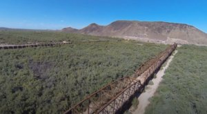 A Drone Flew High Above This Uninhabited Bridge In Arizona And Caught The Most Incredible Footage