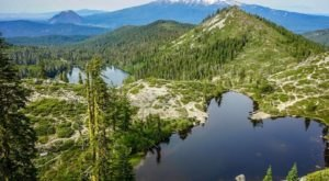 Escape The Entire World On The Secluded Heart Lake Trail In Northern California
