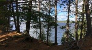 Take A Quiet And Serene Lake Trek On The Clark Lake Loop In Michigan
