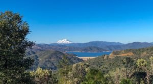 The Trail To Chamise Peak Boasts Sweeping Views Of 'The Three Shastas' In Northern California