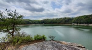 View West Virginia's Summersville Lake Like Never Before From The Cliffs On Long Point Trail
