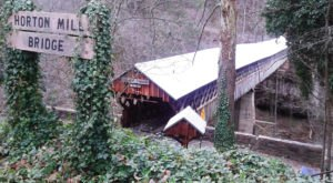 The Tallest, Most Impressive Covered Bridge In Alabama Can Be Found In The Town Of Oneonta